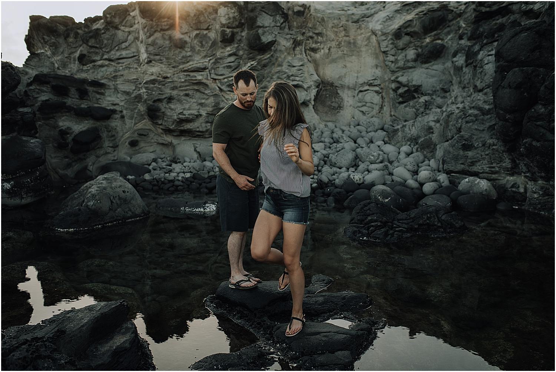 north shore maui engagement session near paia hawaii with wedding photographer naomi levit