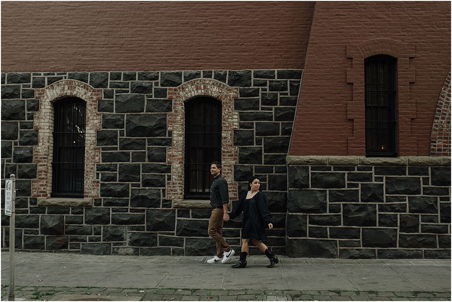 fun day after elopement city session exploring downtown portland oregon with wedding photographer naomi levit
